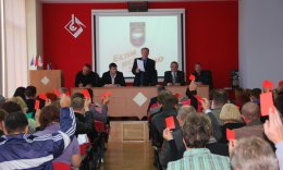 В первичной профсоюзной организации ЗАО «ВМЗ «Красный Октябрь» прошла внеочередная выборная конференция.